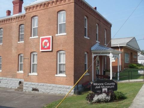 Moore County Jail Museum | Appalachian Quilt Trail